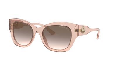Grey Pink Gradient Sunglasses