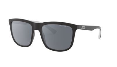 Polar Dark Grey Mirror Silver Sunglasses