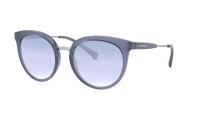 Clear Gradient Light Blue Sunglasses