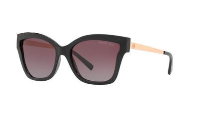 Grey Purple Gradient Polarized Sunglasses