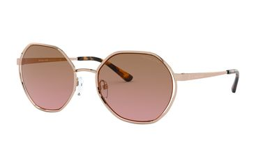 Brown Pink Gradient Sunglasses