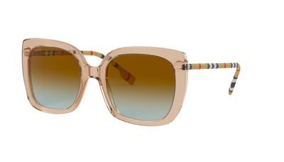 Azure Gradient Brown Sunglasses