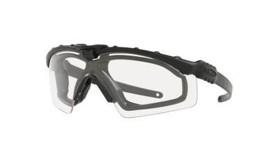 SI Ballistic M Frame 3.0 Matte Black Clear Sunglasses