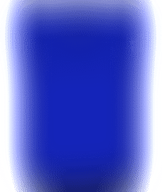 Percale Cobalt Bedsheet King Size