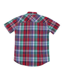 BOYS SOLIDSHIRTS HALF SLEEVE SHIRT