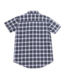 BOYS Y/D CHECKS HALF SLEEVE SHIRT