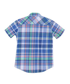 BOYS Y/D STRIPE HALF SLEEVE SHIRT