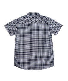 BOYS CHECK HALF SLEEVE SHIRT