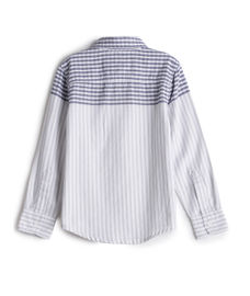 BOYS STRIPE SHIRTS FULLSLEEVE SHIRT