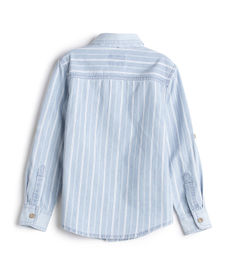 BOYS STRIPE FULLSLEEVE SHIRT