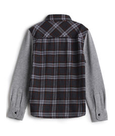 BOYS Y/D CHECK FULLSLEEVE SHIRT
