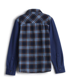 BOYS CHECK FULL SLEEVE SHIRT