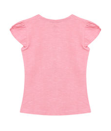 GIRLS CAP SLEEVE KNIT TOP