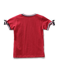 GIRLS HALF SLEEVE KNIT TOP