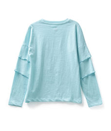 GIRLS FULL SLEEVE KNIT TOP