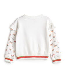 GIRLS FULL SLEEVE SWEATSHIRT