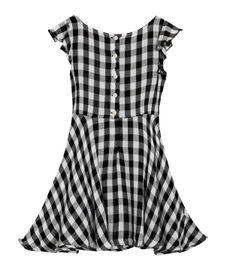GIRLS SOLID DRESS