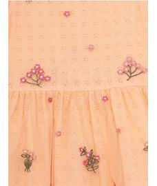 GIRLS LACE SLEEVELESS DRESS