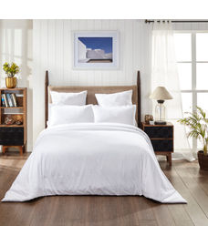 Percale Oatmeal Duvet Cover King Size