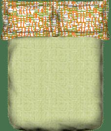 Tuscan Bedsheet & Comforter Set