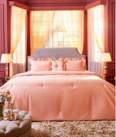 Just Us Luxury Nude Bedsheet Super King Size