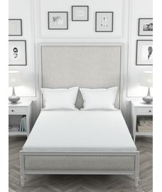Colors White Bedsheet Super King Size