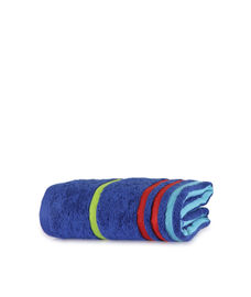 Tiara Twilight Blue Bath Towel