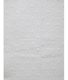 Mattress Protector White Double Size