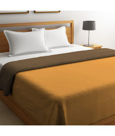 Blockbuster Ochre & Depia Comforter Double Size