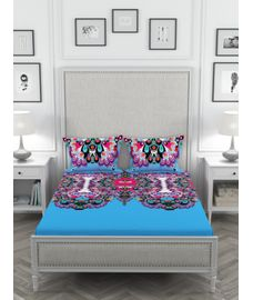 Butterfly Mix Bedsheet King Size