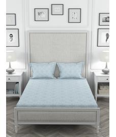 Just Us Premium Silver Grey Bedsheet Super King Size