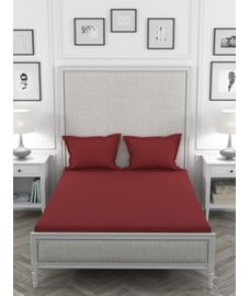 Just Us Classic Ruby Rose Bedsheet Super King Size
