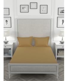 Colors Gold Ash Bedsheet Super King Size