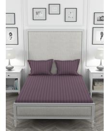 Colors Grape Royale Bedsheet Super King Size
