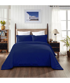 Supercale Deep Wisteria Duvet Cover King Size