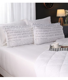 Happiness Is Pillow Cover Set