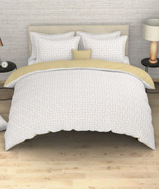 Portico New York Melange Collection - Weave Pattern King Size Comforter (100% Cotton, Reversible)