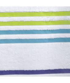 Tiara Vanilla White Bath Towel