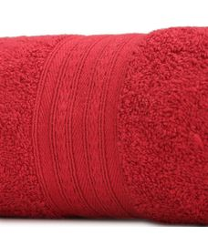 Eva Red Plum Bath Towel XL Size