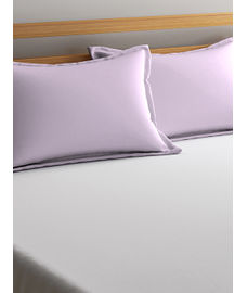 Percale Baby Pink Pillow Cover Set