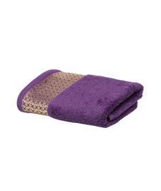 Mia Royal Grape Hand Towel