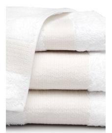Lagoon Bamboo Optical White Towel Set