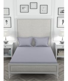 Just Us Classic Orchid Bedsheet Super King Size