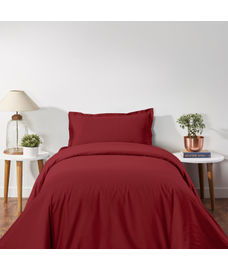 Supercale Duvet Cover Sangria Single Size