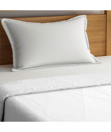 Forever White Basic Bedsheet Single Size