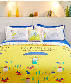 Happiness Is Comforter Single Size