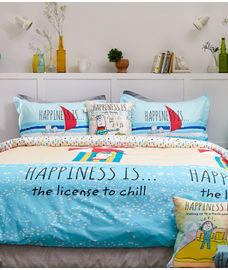 Happiness Is Comforter King Size