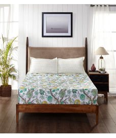 Mix Don't Match Bedsheet Super King Size