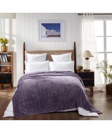 Jersey Frozen Grape Blanket Double Size