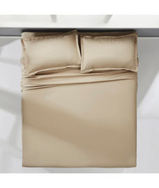 Supercale Latte Bedsheet Super King Size